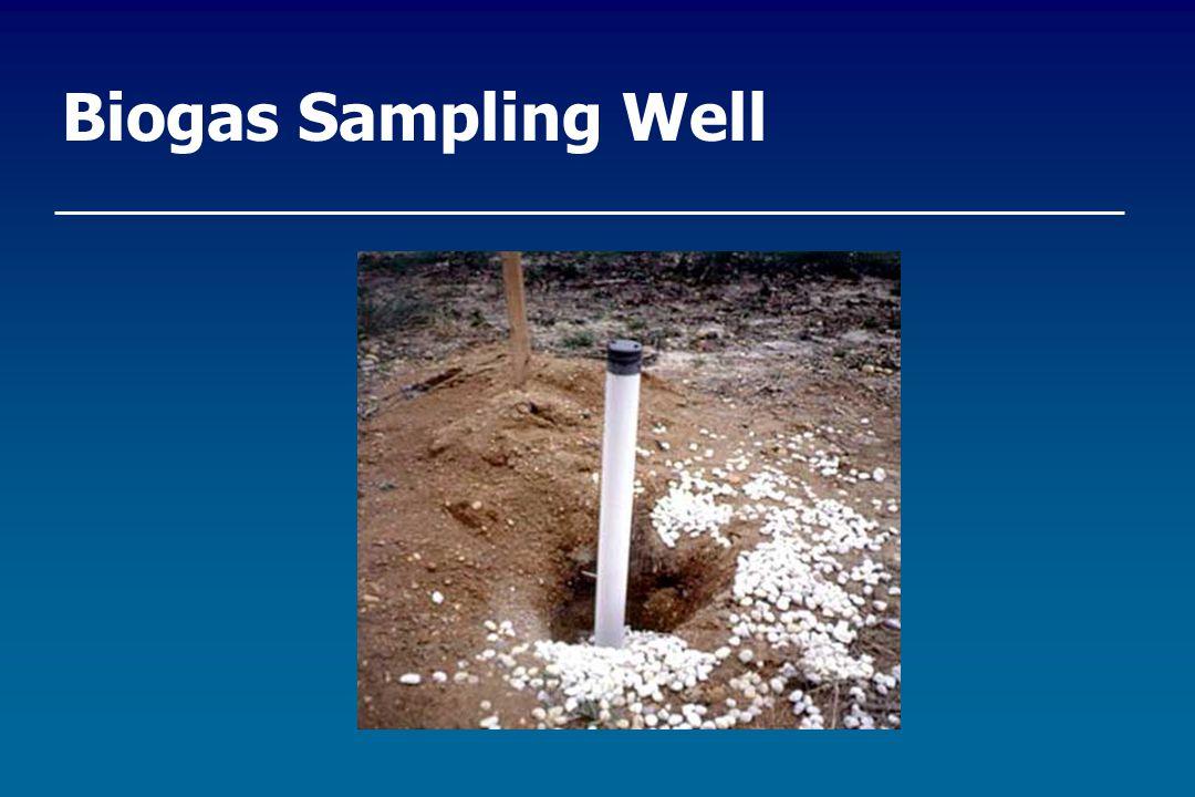 Biogas Sampling Well