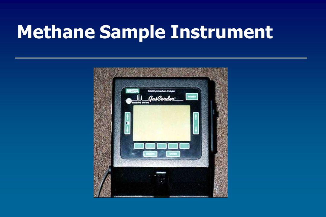 Methane Sample Instrument