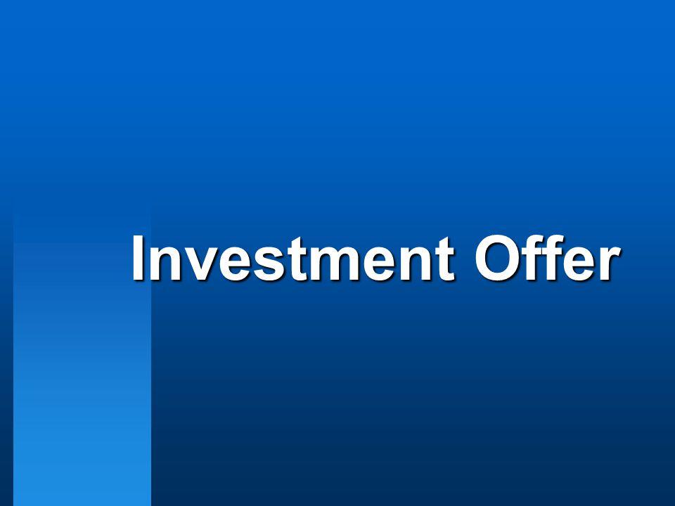 Investment Offer
