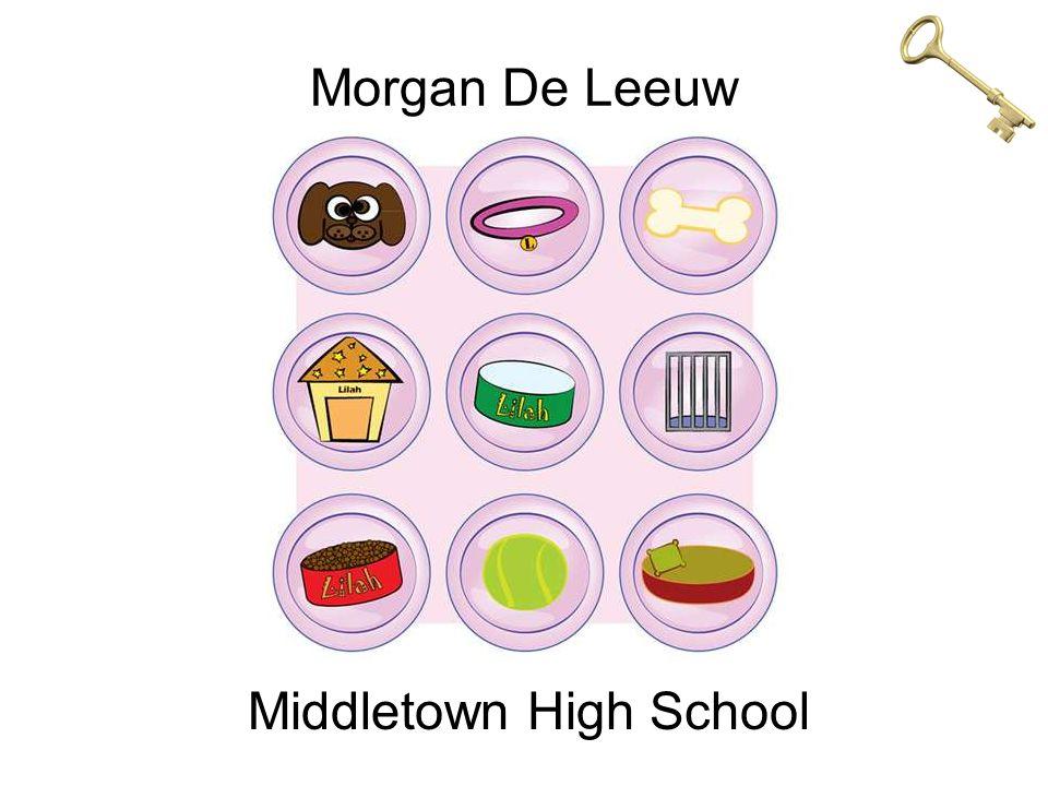 Morgan De Leeuw Middletown High School