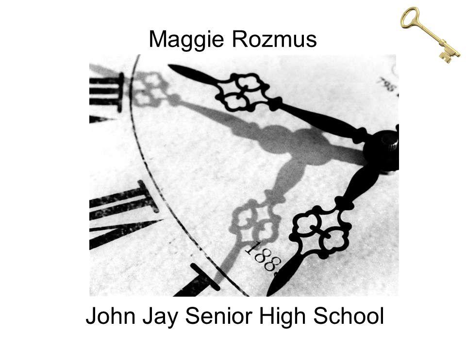 Maggie Rozmus John Jay Senior High School