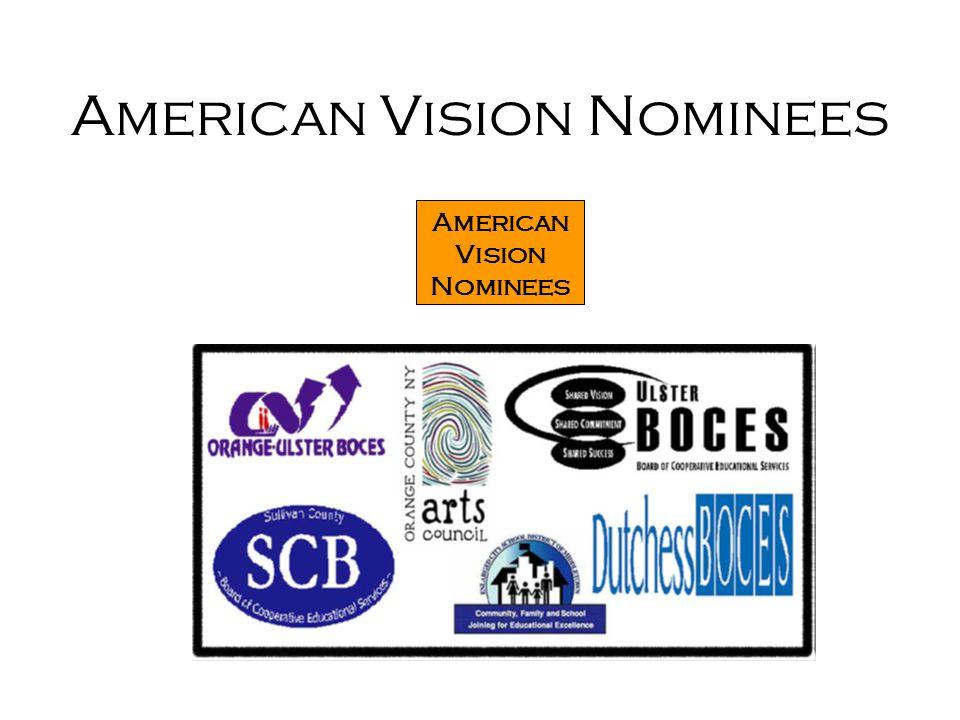 American Vision Nominees American Vision Nominees