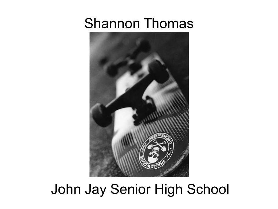 Shannon Thomas John Jay Senior High School