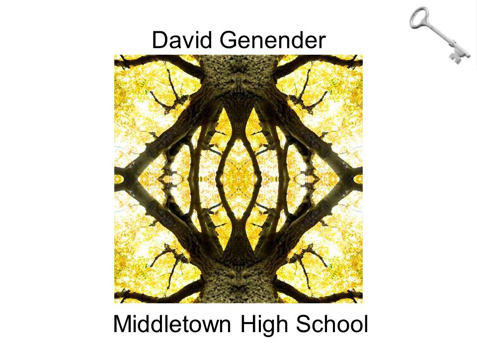 David Genender Middletown High School