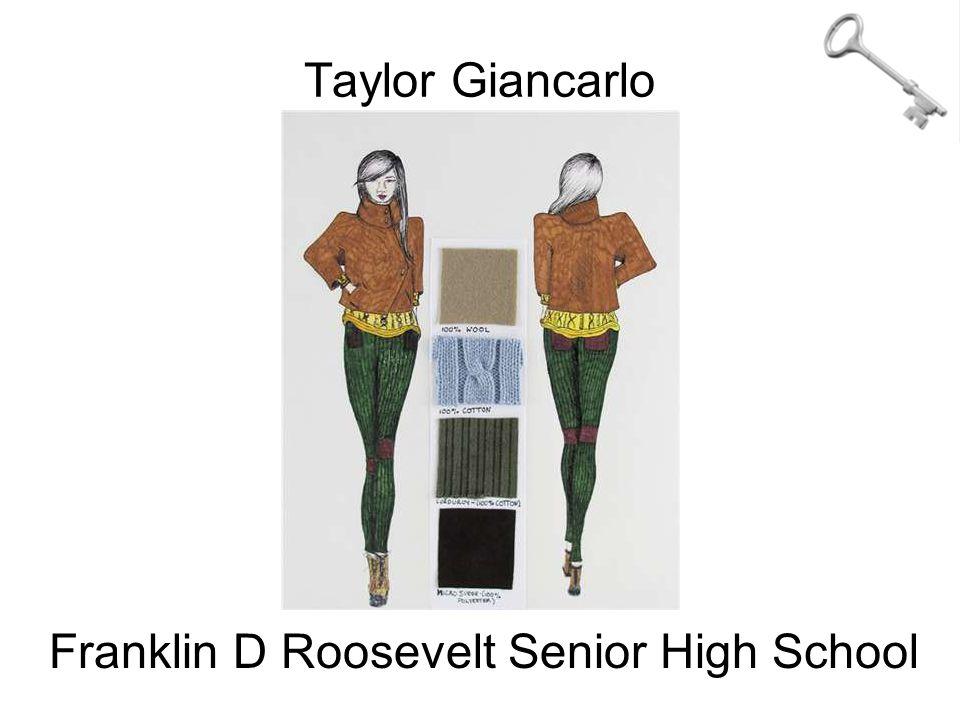 Taylor Giancarlo Franklin D Roosevelt Senior High School