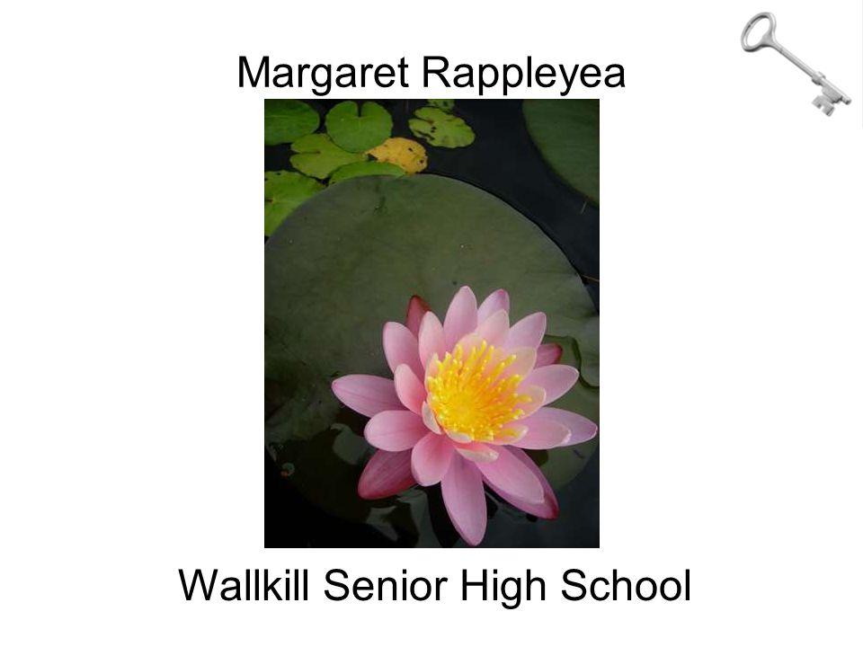 Margaret Rappleyea Wallkill Senior High School