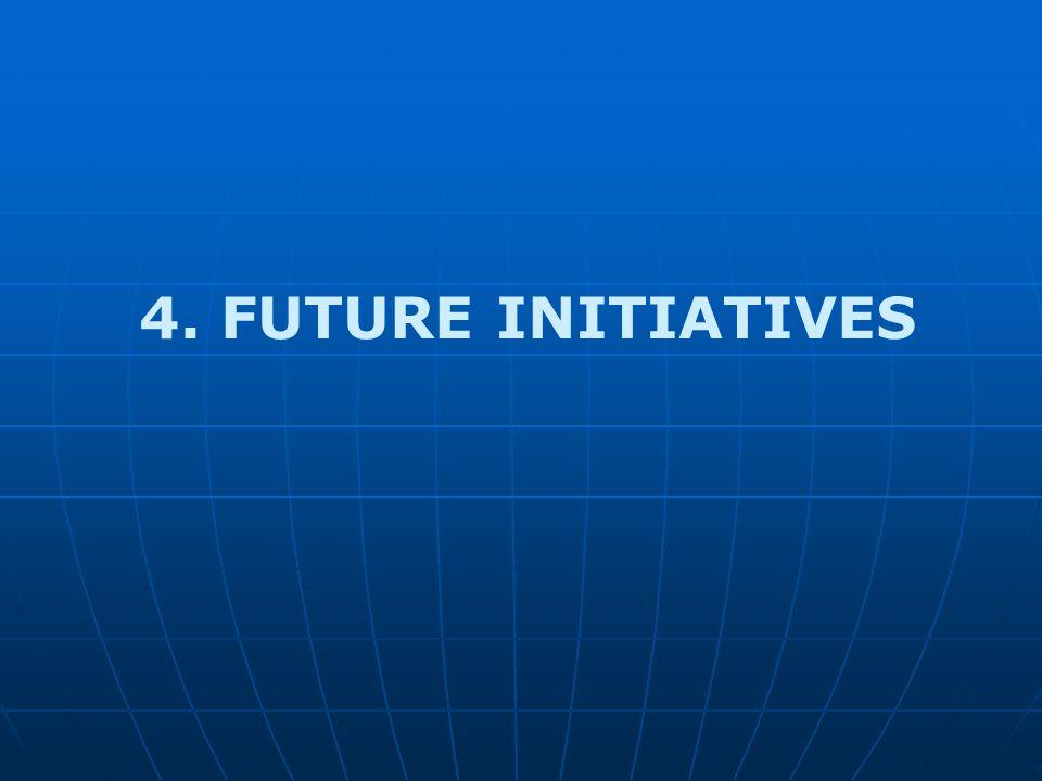 4. FUTURE INITIATIVES