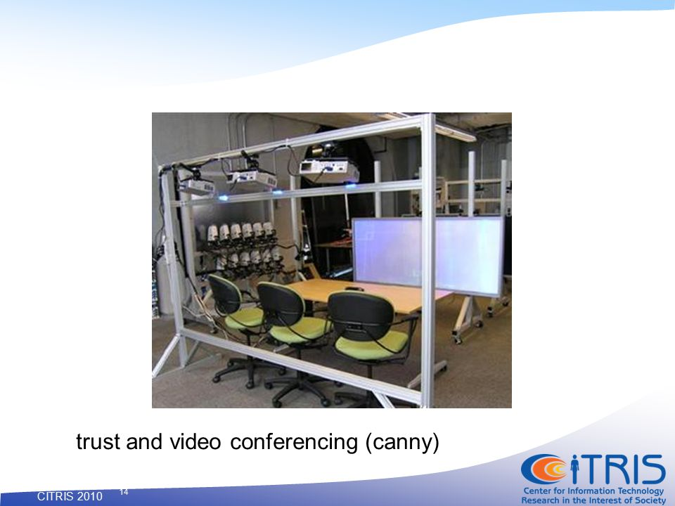 CITRIS 2010 14 trust and video conferencing (canny)