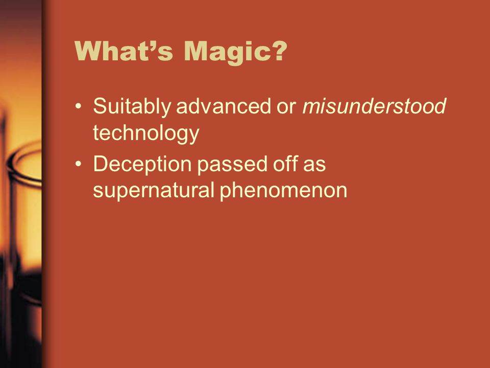 What's Magic.