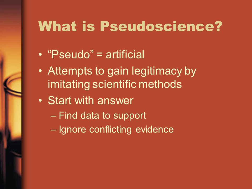 What is Pseudoscience.