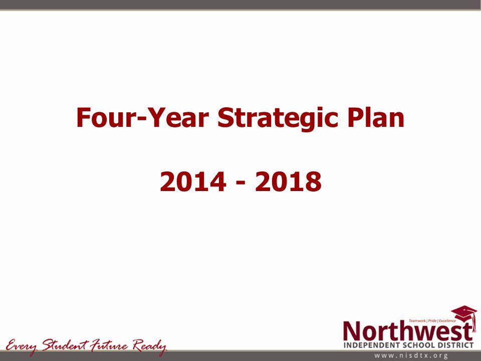 Four-Year Strategic Plan 2014 - 2018