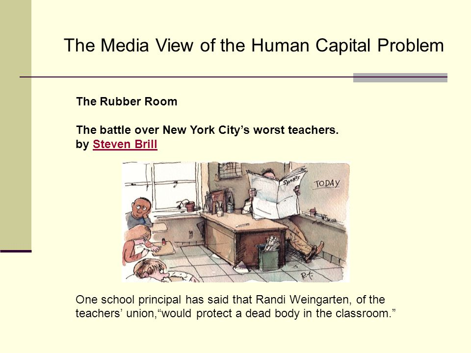 The Rubber Room The battle over New York City's worst teachers.