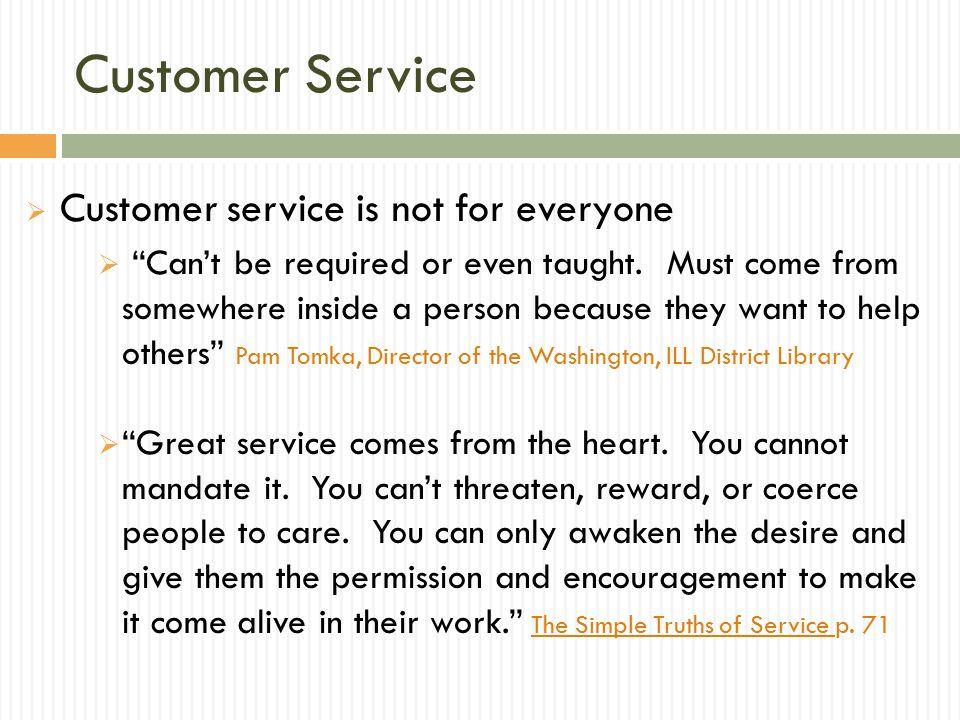 Customer Service Good Customer Service Requires Empowered Staff