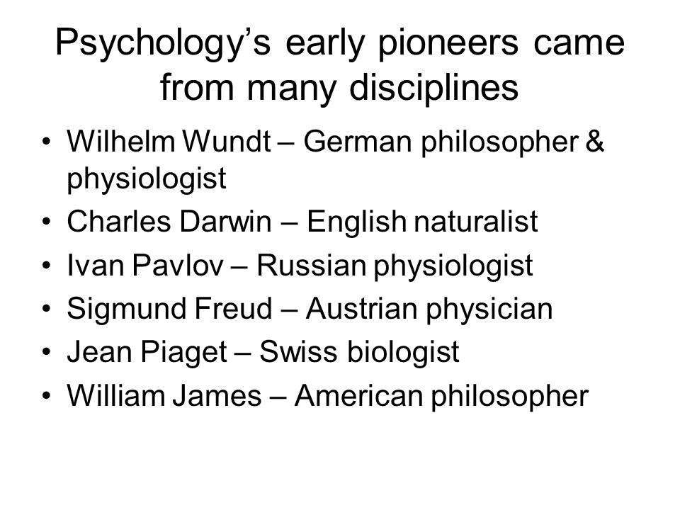 Why Do Psychology?  The Limits of Intuition and Common Sense  The Scientific Attitude