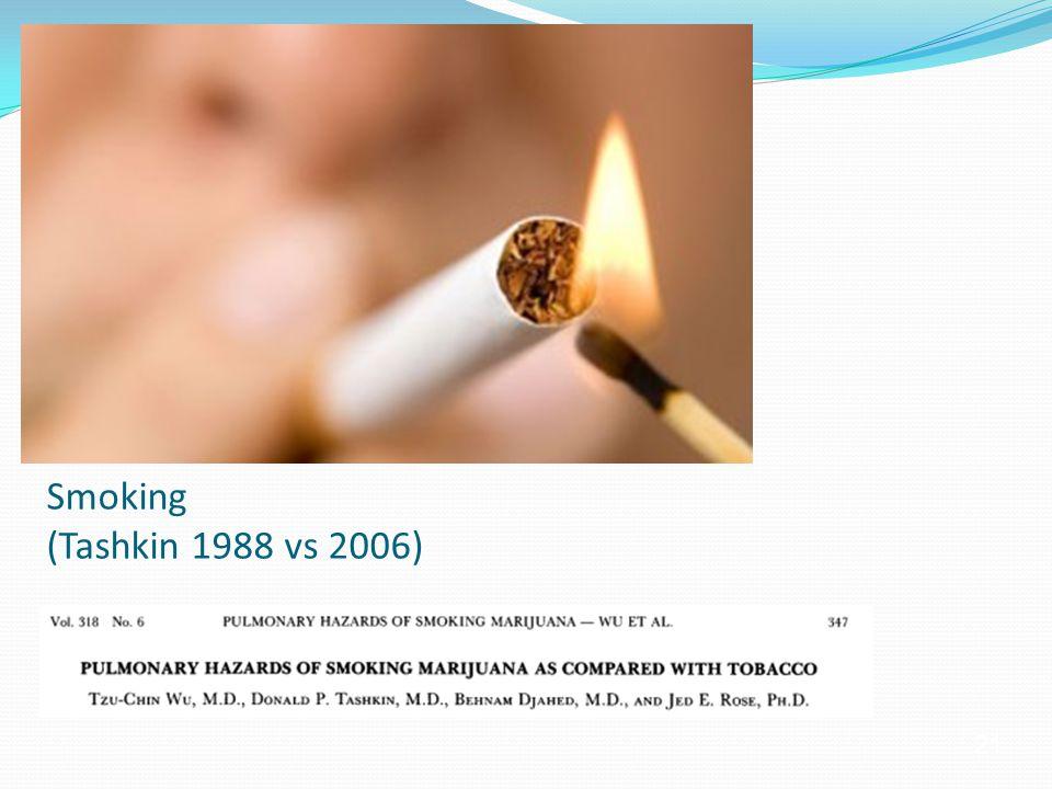 21 Smoking (Tashkin 1988 vs 2006)