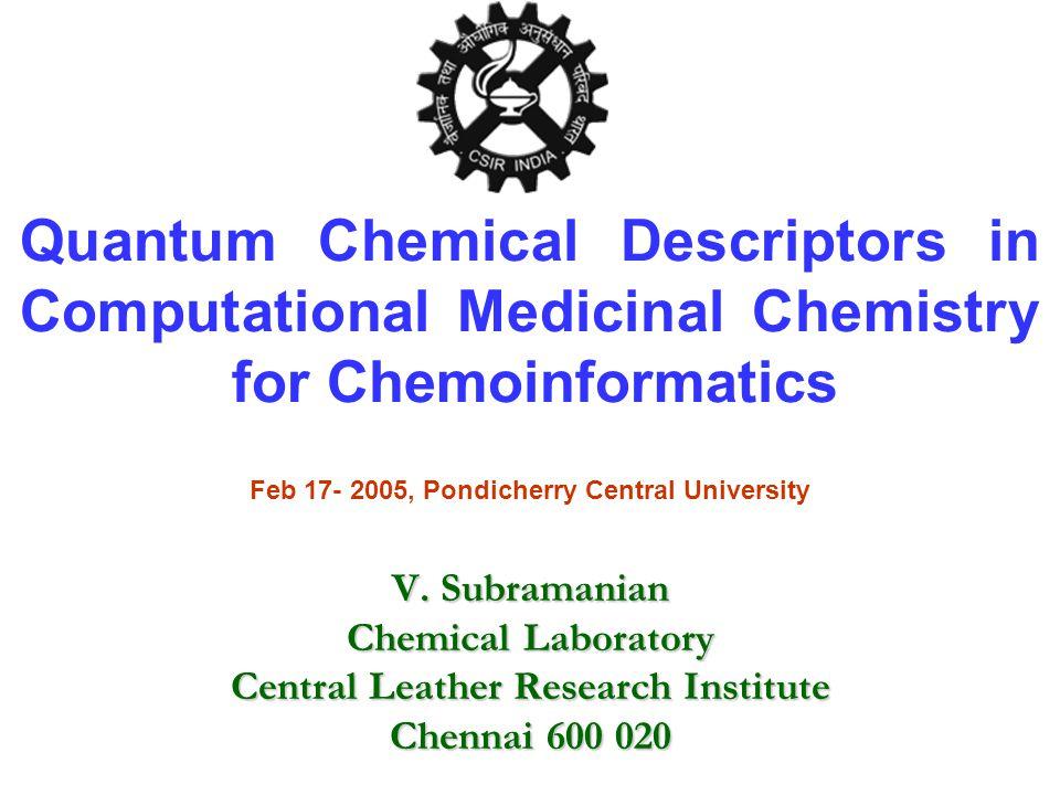 Acknowledgements T.Ramasami P. K. Chattaraj R. Parthasarathi J.