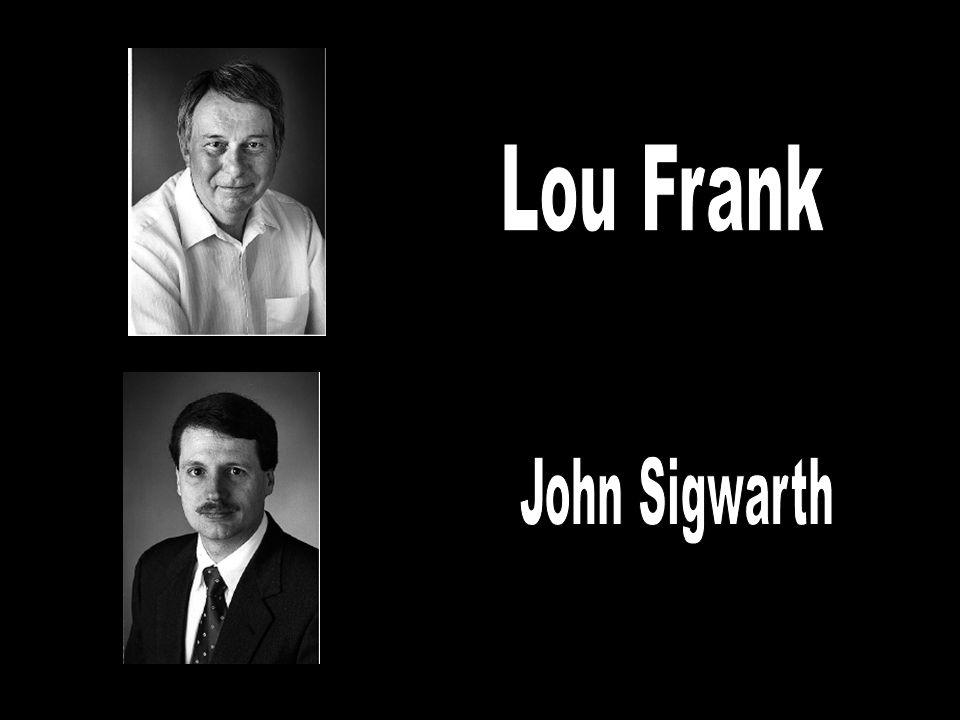 VIS Dr. Lou Frank & Dr. John Sigwarth