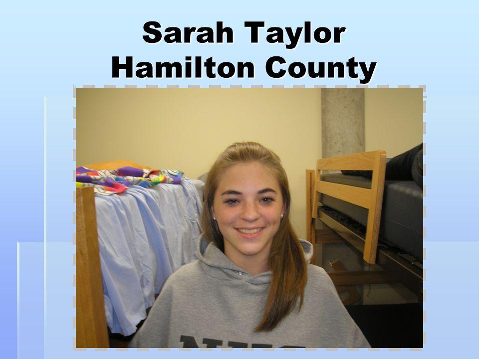 Sarah Taylor Hamilton County