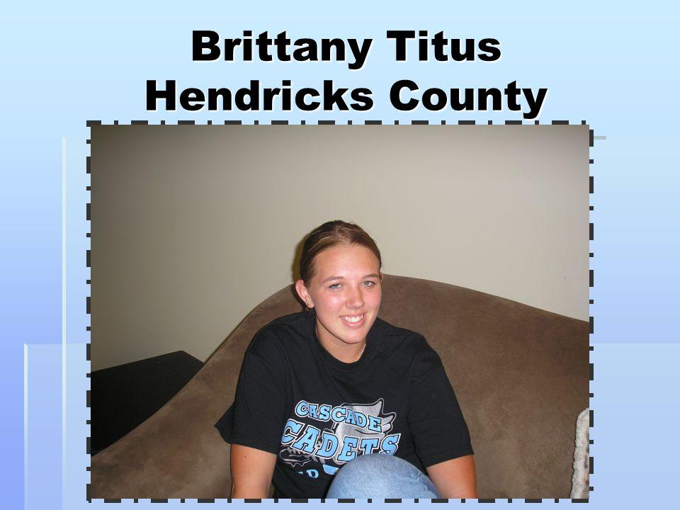 Brittany Titus Hendricks County