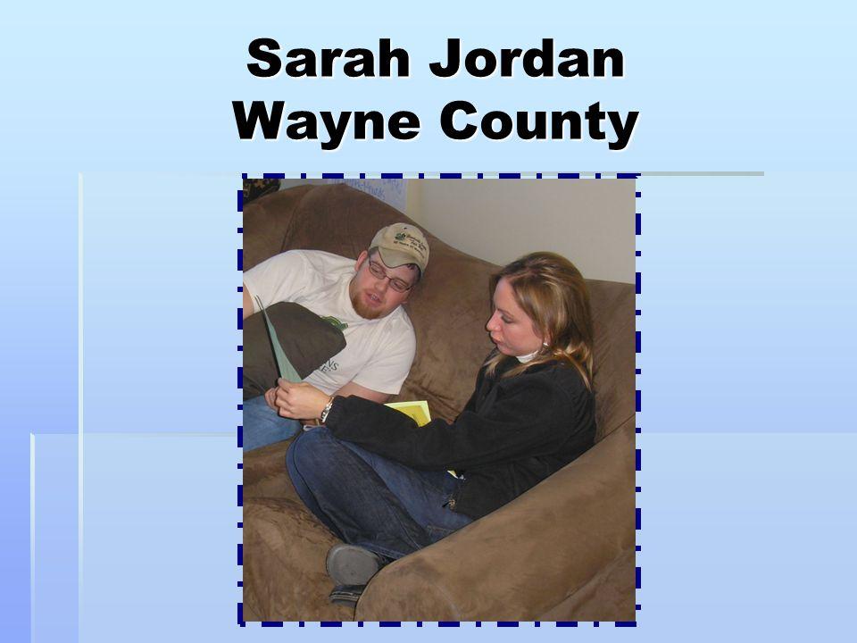 Sarah Jordan Wayne County