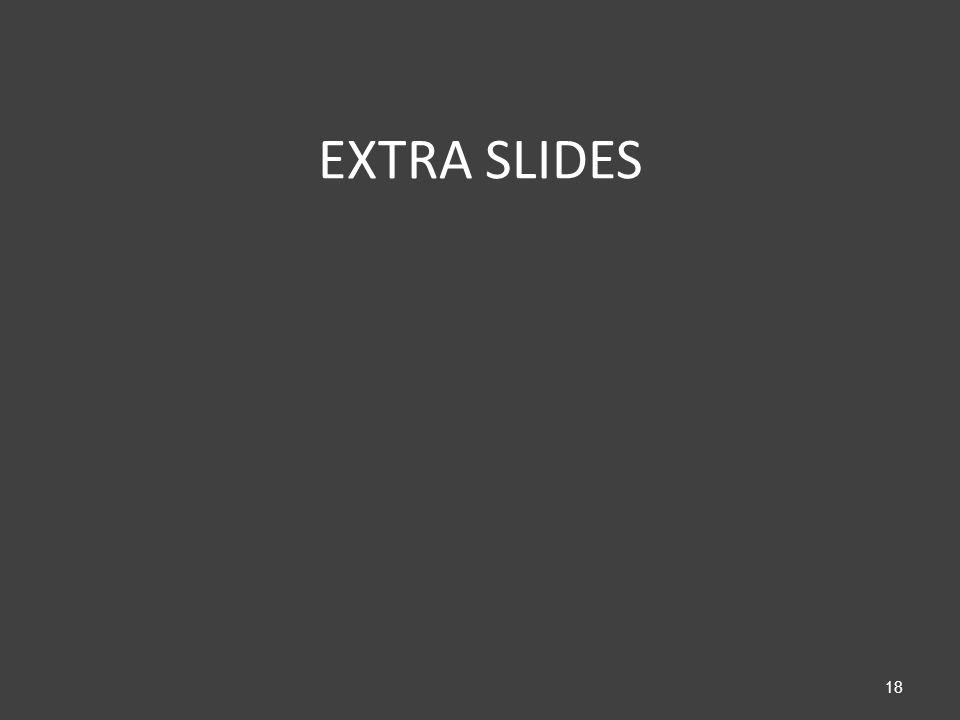 EXTRA SLIDES 18