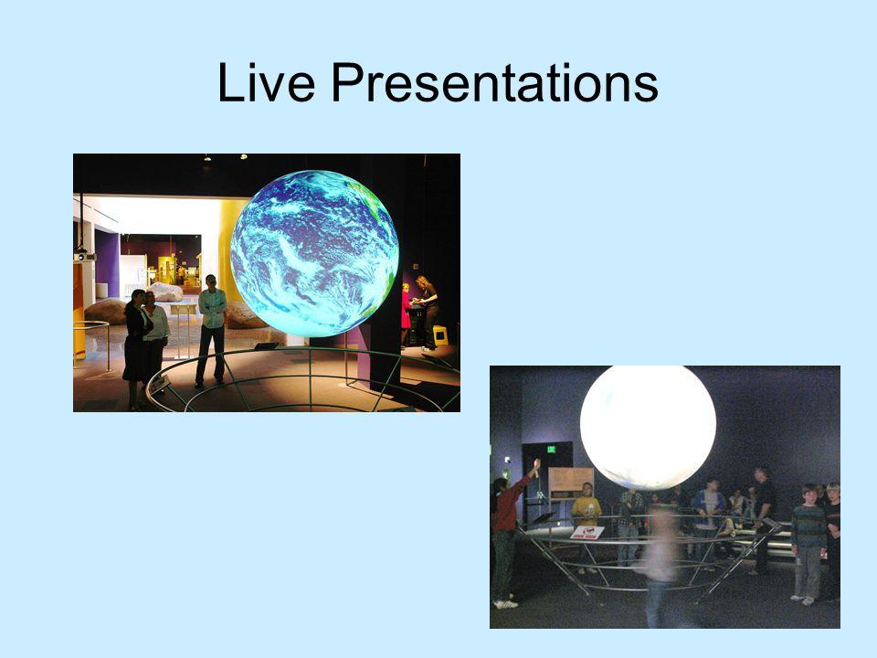 Live Presentations