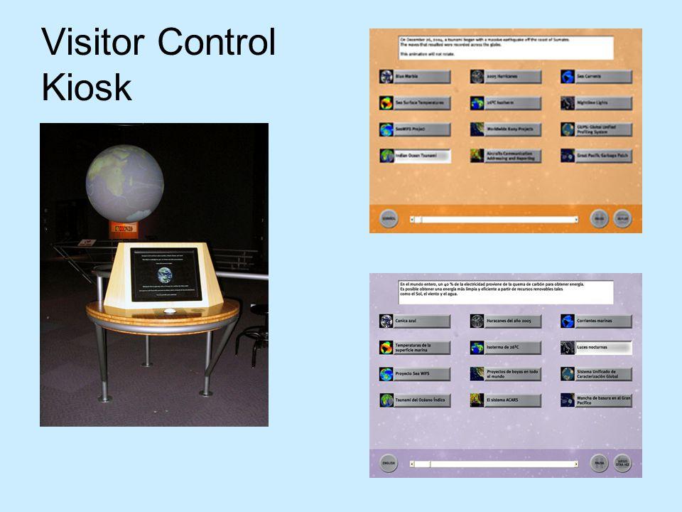 Visitor Control Kiosk