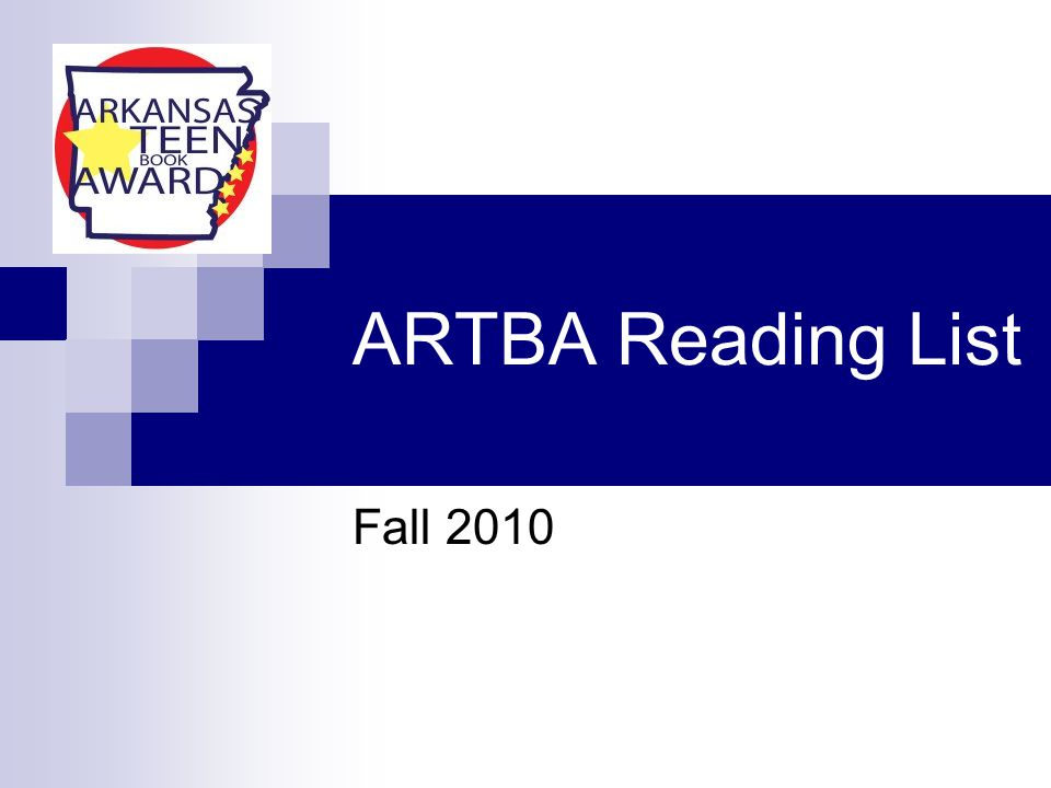 ARTBA Reading List Fall 2010