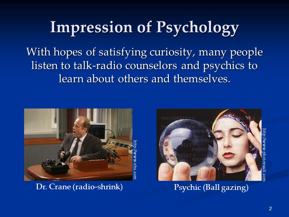3 The Need for Psychological Science Intuition & Common Sense Many people believe that intuition and common sense are enough to bring forth answers regarding human nature.