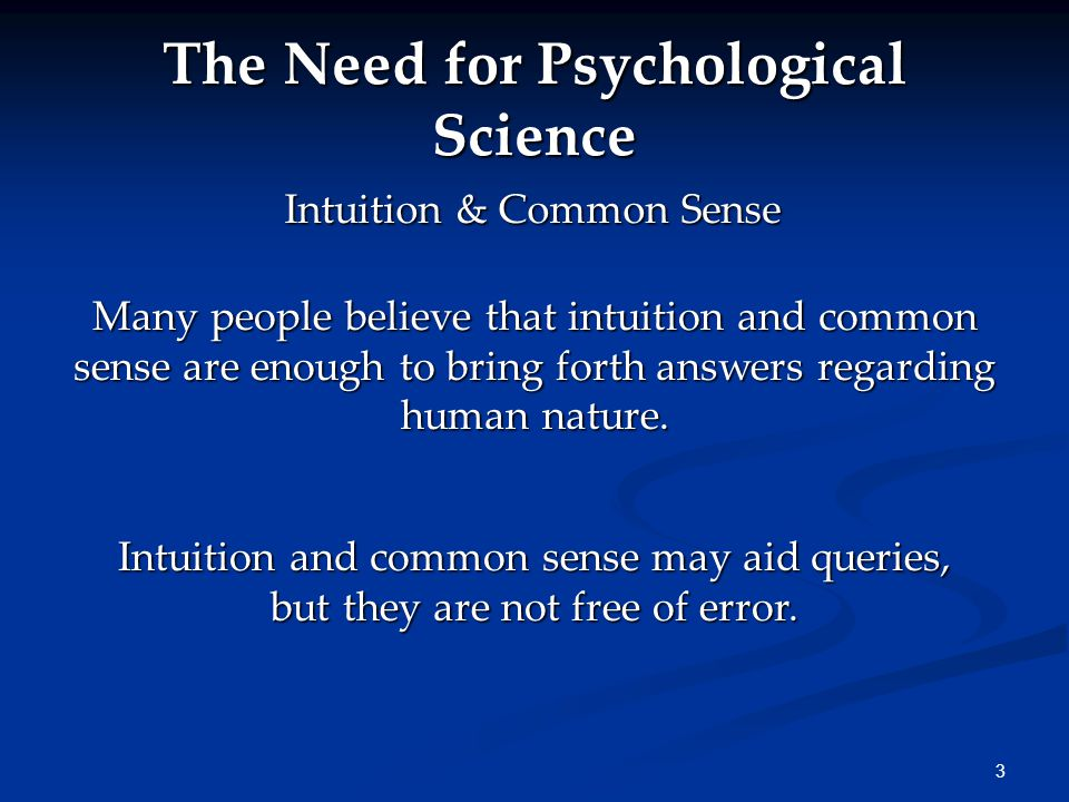 4 Limits of Intuition Personal interviewers may rely too much on their gut feelings when meeting with job applicants.