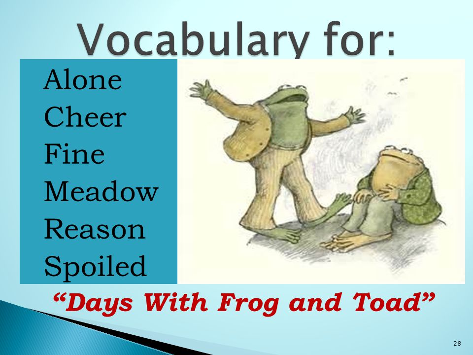  Alone  Cheer  Fine  Meadow  Reason  Spoiled Days With Frog and Toad 28