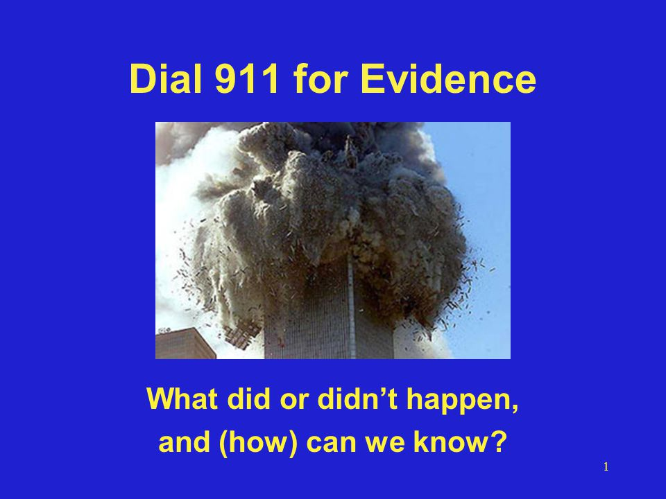 52 Evidence/testimony credibility Reputation of source Example: David Ray Griffin Well respected as theologian, many books, dean of the 9/11 Truth movement Researcher who gathers together others' research, does some checking w/primary Possible debunks –757 didn't hit Pentagon –Hijackers not there and/or still alive – FAA doc on intercept timing is not FAA.