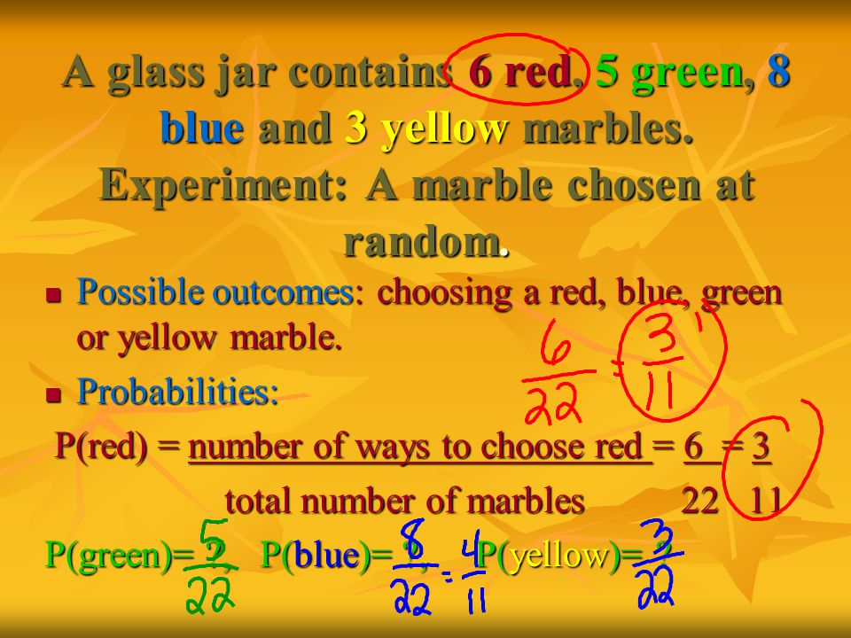 Permutation When deciding who goes 1 st, 2 nd, etc., order is important.
