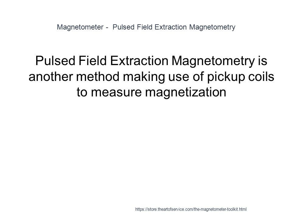 Magnetometer - Torque Magnetometry 1 Magnetic torque magnetometry can be even more sensitive than SQUID magnetometry.