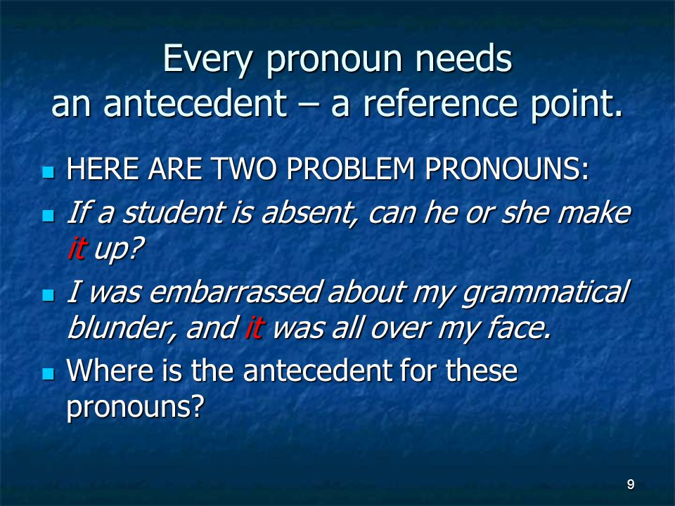 Pronouns ending with body, thing, etc.are singular.
