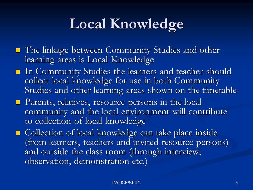 5DALICE/SFUC Learning outcomes Zambia Basic Education Syllabi.