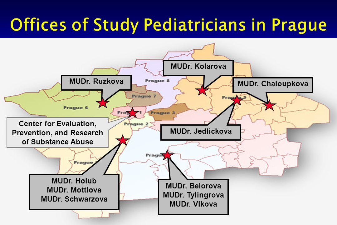 8 Offices of Study Pediatricians in Prague MUDr. Ruzkova MUDr.