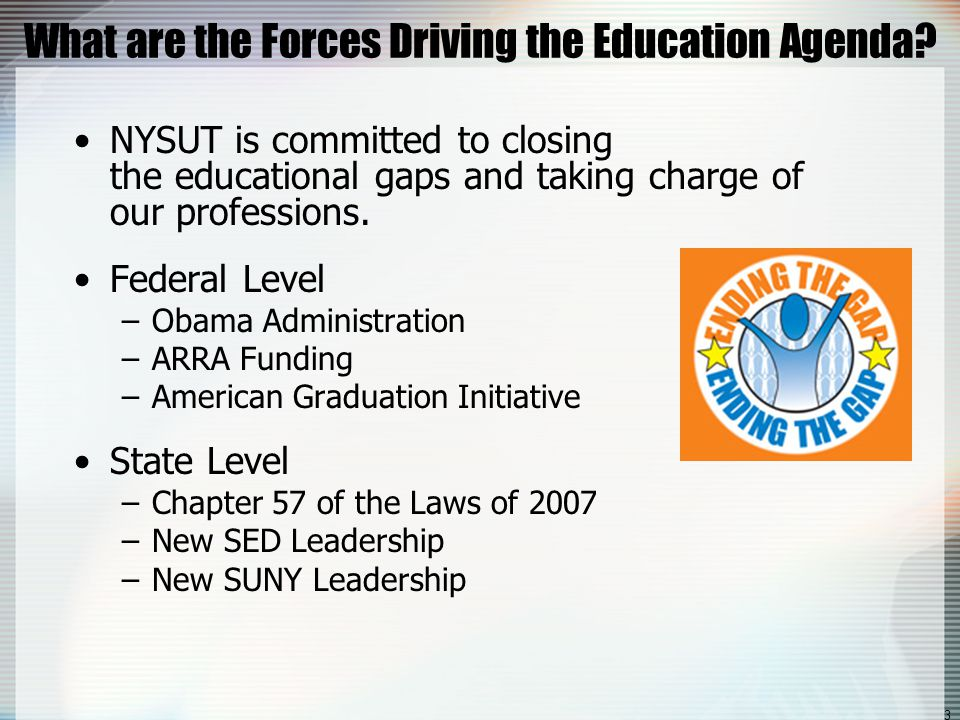 4 Why Are we Having This Discussion.NYSUT has committed to ensuring we are partners at the table.