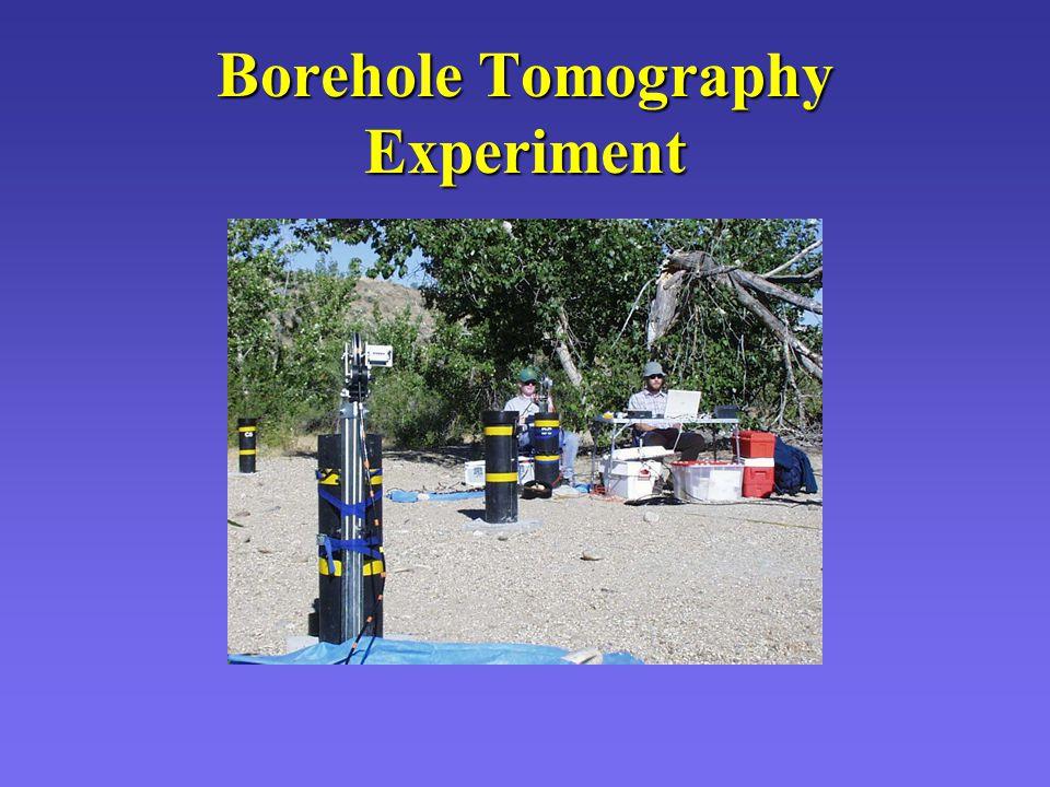 Borehole Tomography Experiment