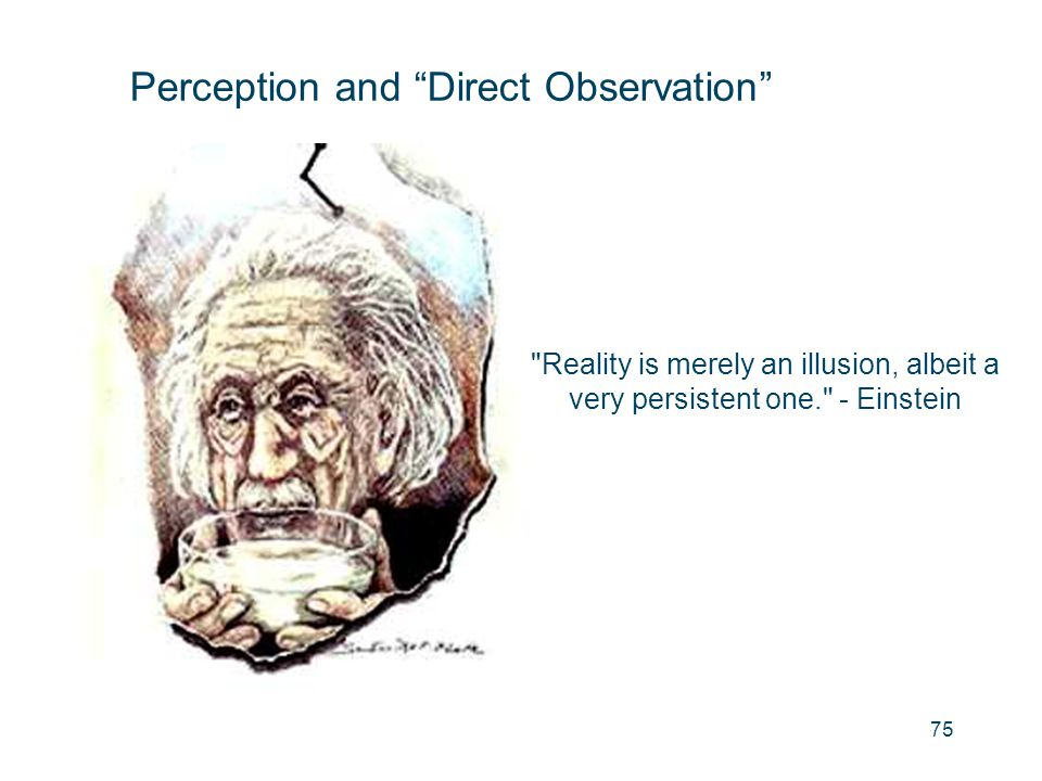 "Perception and ""Direct Observation"""