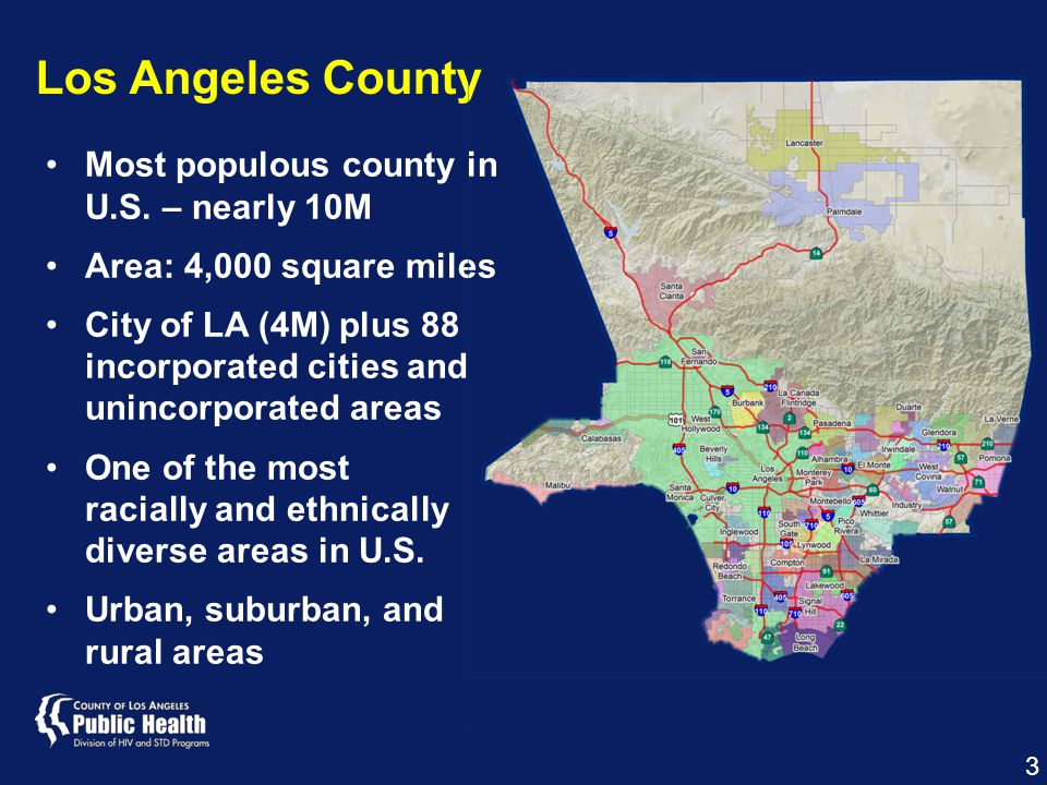 Most populous county in U.S.
