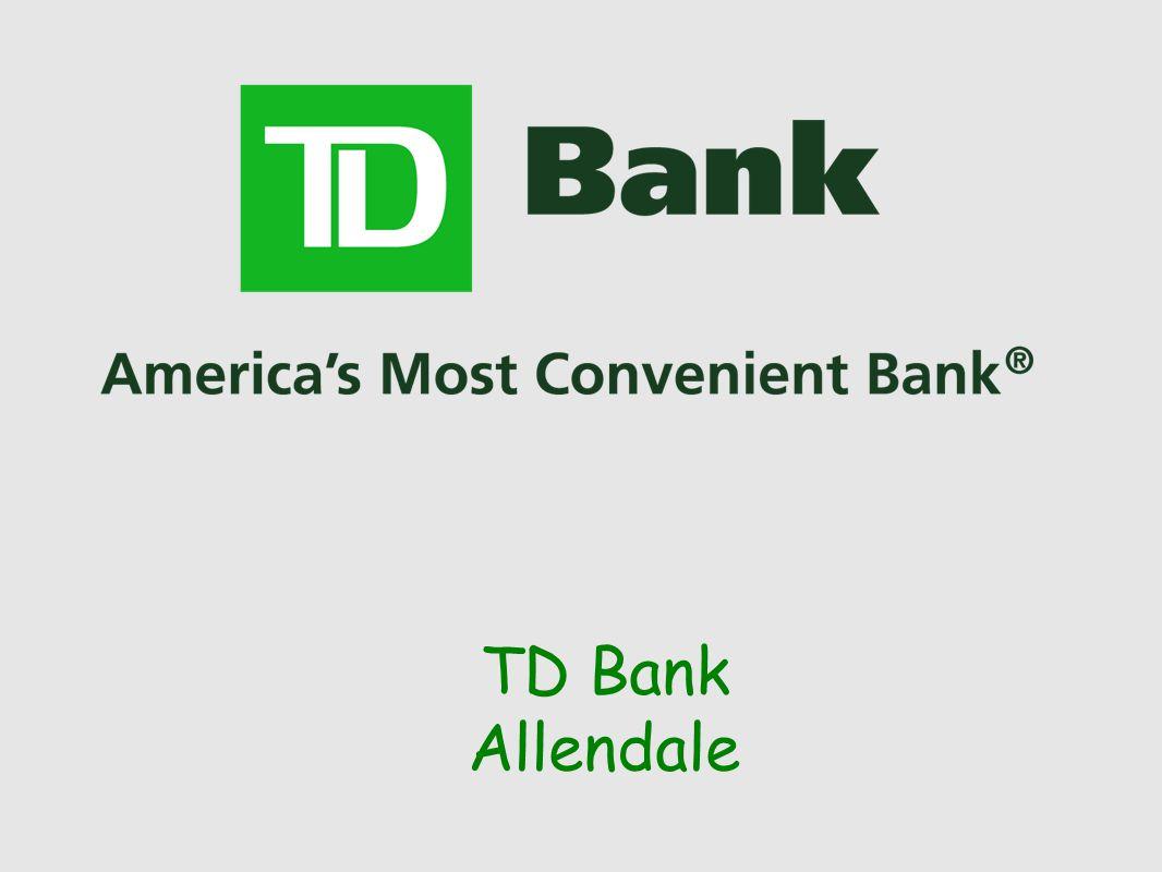 TD Bank Allendale