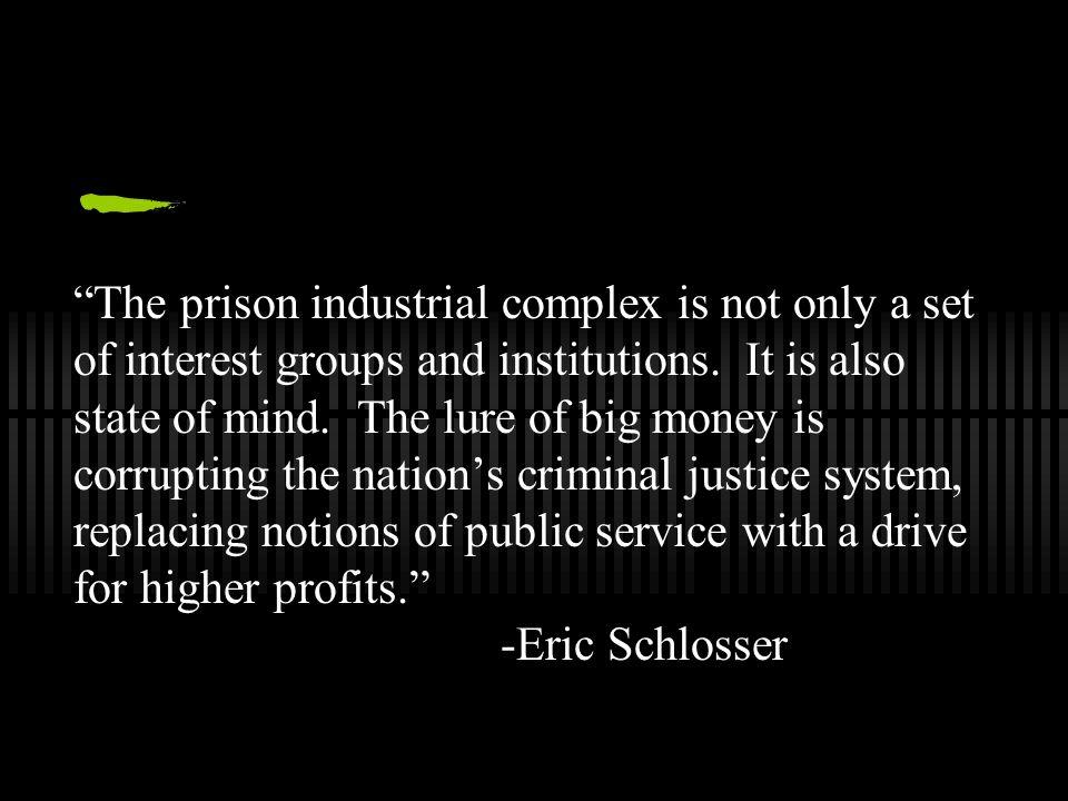 Prison Profiteering: The Business of Incarceration