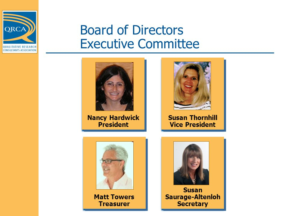 Board of Directors Executive Committee