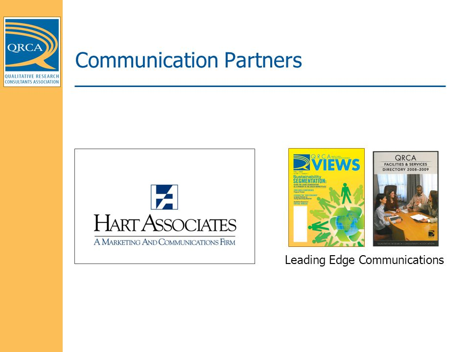 Communication Partners Leading Edge Communications