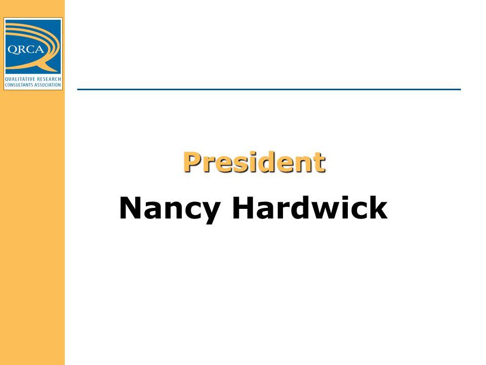 President Nancy Hardwick