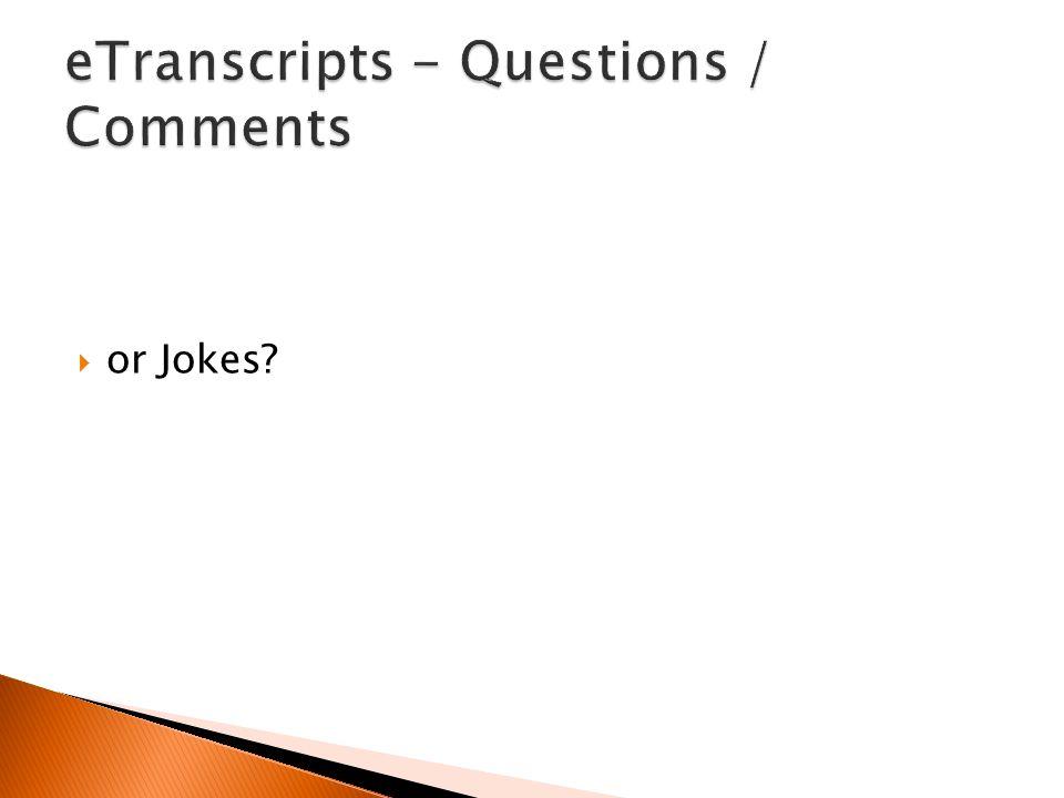  or Jokes