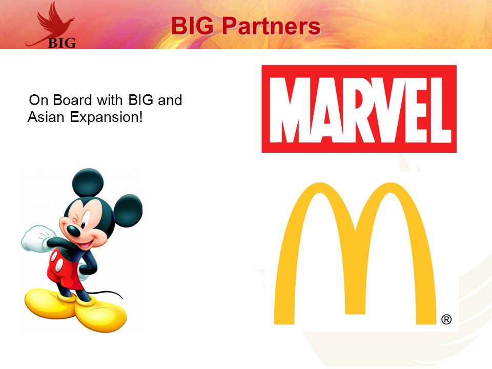 On Board with BIG and Asian Expansion! BIG Partners