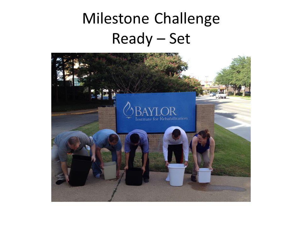Milestone Challenge Ready – Set