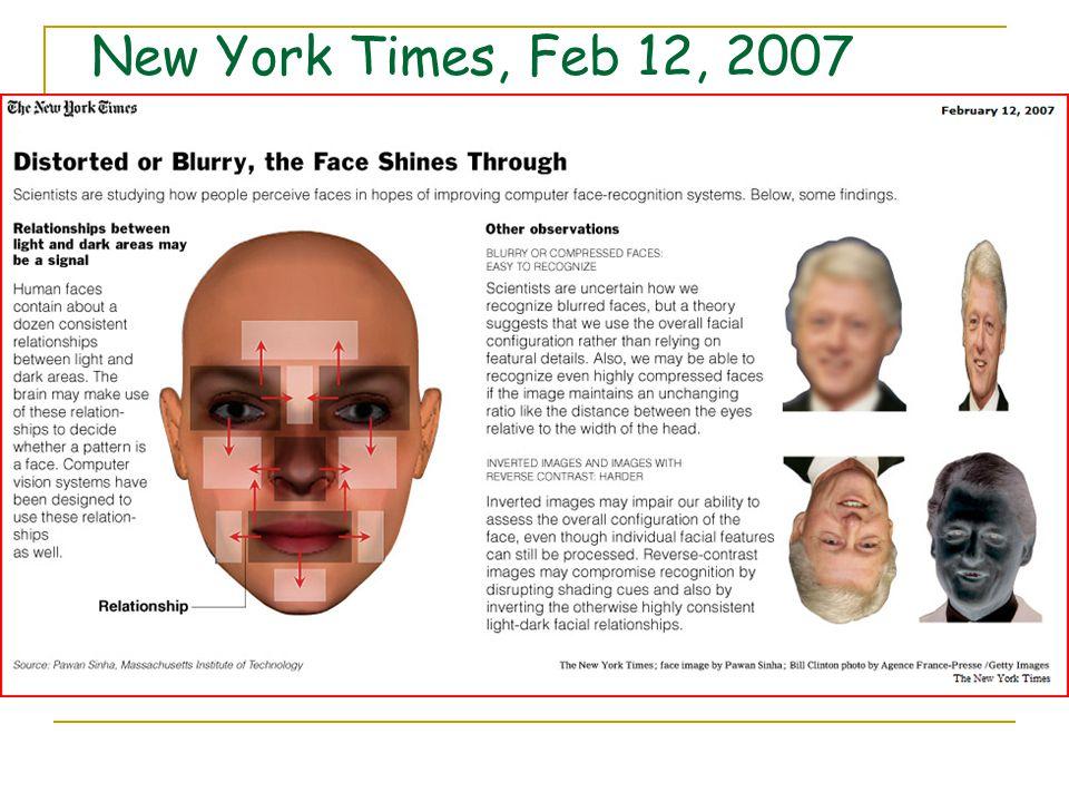 New York Times, Feb 12, 2007